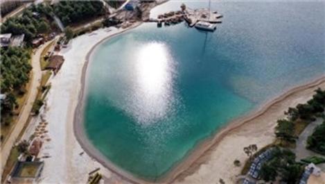 Plaja mermer tozu döken işletmelere 575 bin TL ceza!