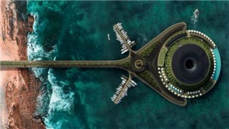 Katar'dan kendi elektriğini üreten yüzen otel projesi!