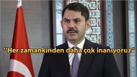 ''Kanal İstanbul'u yapacağız, milletimize hayırlı olsun''