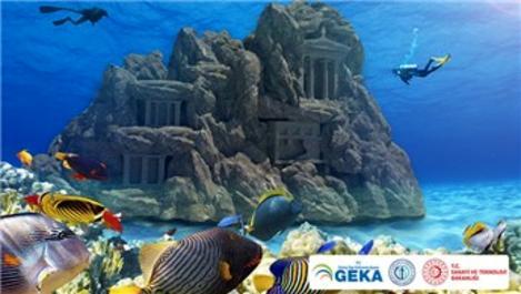 Fethiye'de tematik sualtı tarih parkı için 1 milyon TL'lik destek