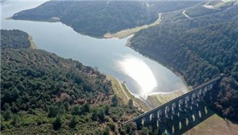 İstanbul'da barajların doluluk oranı %75,88 oldu