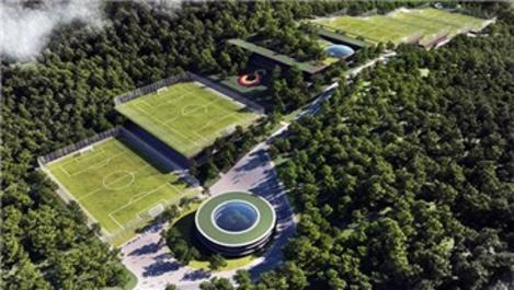 Galatasaray'ın Kemerburgaz arazisinde start verildi