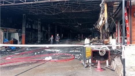 Ankara'daki Kasaplar Çarşısı yangında hasar gördü