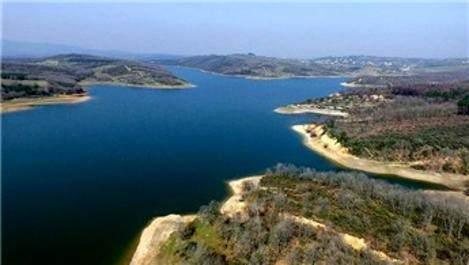 İstanbul'un barajlarındaki doluluk %78,51'e yükseldi