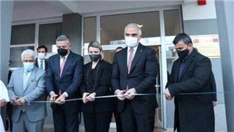 Bakan Ersoy, Arnavutluk'ta yenilenen öğrenci yurdunu hizmete açtı