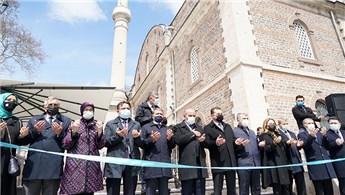 Zağnos Mehmet Paşa Külliyesi'nin çevre düzenlenmesi tamamlandı