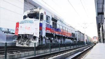 Çin'e bor ihracatı için giden ikinci tren yola çıktı!