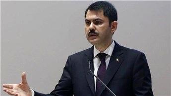 """Bakan Kurum'dan """"Rakamlarla Kentsel Dönüşüm"""" açıklaması"""