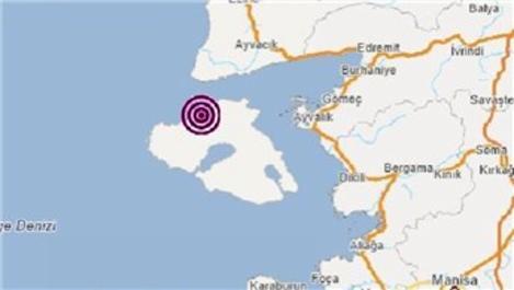Ege'de 3.9 büyüklüğünde iki deprem!
