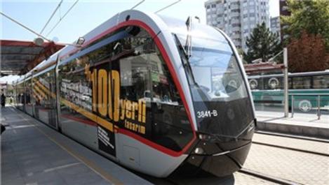 Kayseri'nin tramvay hatlarının hizmet kalitesine AB tescili