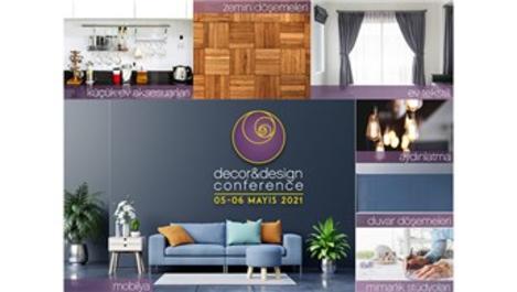 Decor & Design Conference, 5-6 Mayıs'ta düzenlenecek