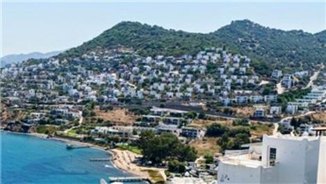 Yazlık kiraları sezonluk 400 bin TL'ye yükseldi