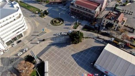 Samsun Cumhuriyet Meydanı'ndaki çalışmalar 2023'te tamamlanacak