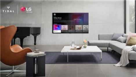 LG Smart TV'lere TIDAL uygulaması eklendi