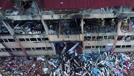 Bağcılar'da bir fabrikada korkutan patlama!