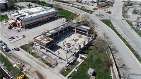 Dünyanın ilk bilardo turvunası tesisinin inşaatında sona doğru!