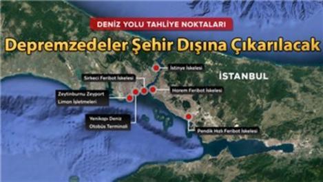 İstanbul'un Deprem Eylem Planı hazır!
