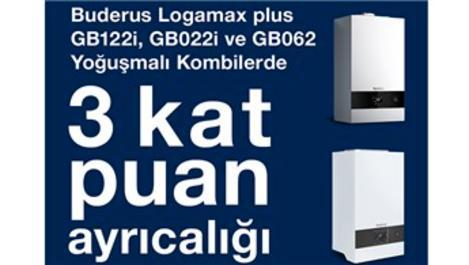 Buderus Star Club'tan Kat Kat Puan kampanyası!