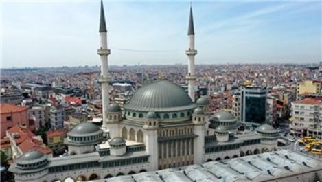 Taksim'e yapılan cami 7 Mayıs'ta ibadete açılacak
