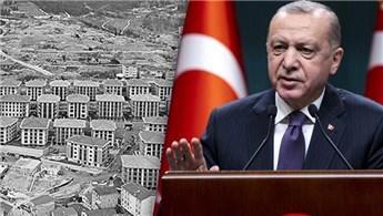 Başkan Erdoğan'dan Üsküdar'ın dönüşümü için talimat!