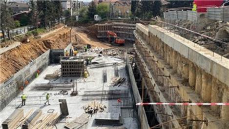 Boğaziçi Üniversitesi'nde İnşaat Laboratuvarı Binası yükseliyor