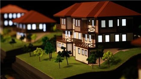 Rize'de yöre mimarisine uygun evler yapılacak