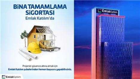 Emlak Katılım ve Türkiye Sigorta'dan 'Bina Tamamlama Sigortası'