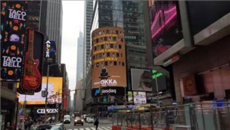 Arzum OKKA, New York'un Times Meydanı'nda!