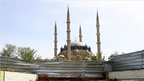 Selimiye Camisi'nde çevre düzenlemesi başlıyor!