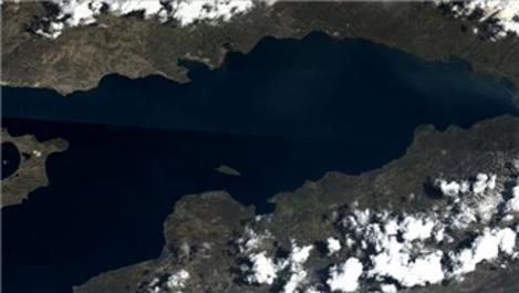 Van Gölü'nün uydudan çekilen fotoğrafı paylaşıldı!