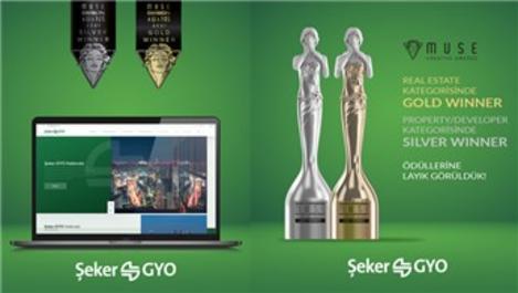 """Şeker GYO web sitesine """"Muse Creative Awards""""dan iki ödül!"""