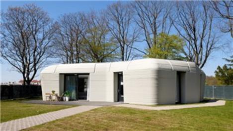 Avrupa'nın ilk 3 boyutlu evi kiracılarına teslim edildi!