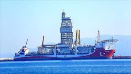 Kanuni sondaj gemisi ilk görevi için Karadeniz'e açıldı!