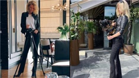 İç mimar Alara Koçibey kamera başına geçti!
