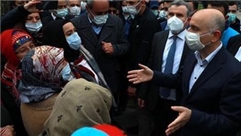 Bakan Karaismailoğlu, İkizdere'de vatandaşlarla görüştü