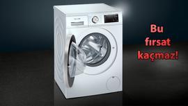 Siemens çamaşır makinelerinde yüzde 20 indirim!