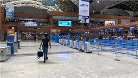 İstanbul havalimanlarında en sakin arefe günü yaşanıyor!