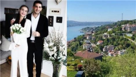 Cemre Kemer, Boğaz manzaralı yeni evine taşındı!