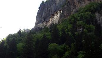 Sümela Manastırı'ndaki restorasyonun yüzde 70'i tamamlandı