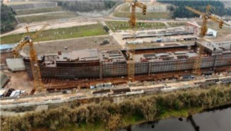 Çin'de Titanic'in tam boyutlu versiyonu inşa ediliyor