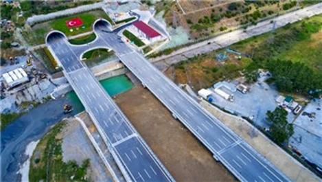 Kuzey Marmara Otoyolu 7. kesiminin inşaatı tamamlandı