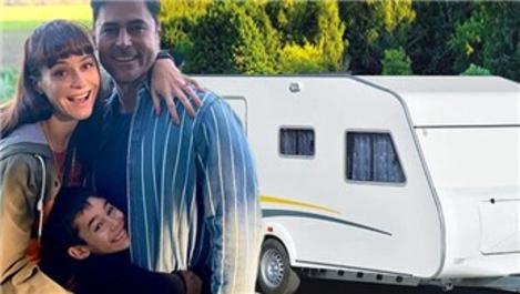 Sedef Avcı- Kıvanç Kasabalı çifti karavan tatili yapacak