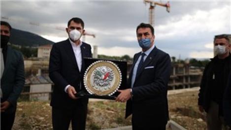 Bursa Osmangazi Meydanı 2022 yılı sonunda hizmete girecek