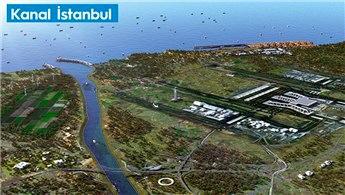 İşte Kanal İstanbul'un ilk görseli! Bakan paylaştı!