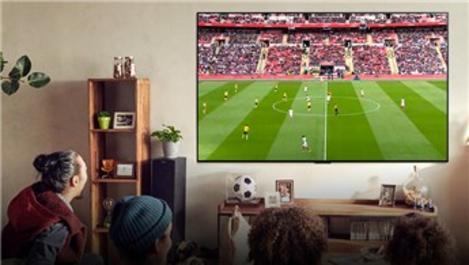 LG OLED ve NanoCell TV'lerle stadyumu eve taşıyın!