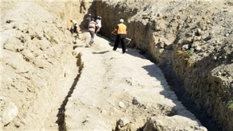 Kuşadası'nda Milattan Önce 1'inci yüzyıla ait su kemeri bulundu