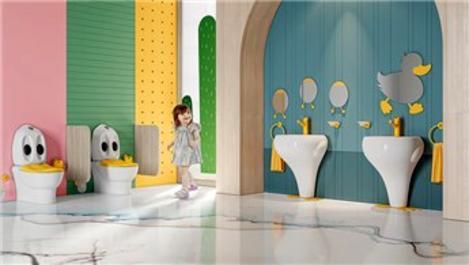 Creavit'ten ödüllü çocuk banyosu: Ducky