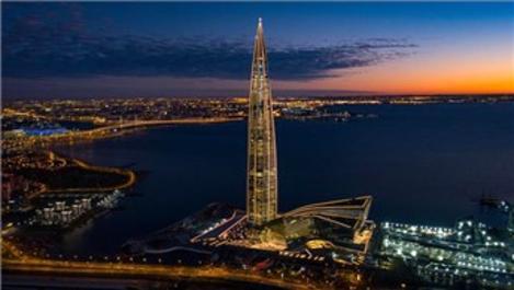 Avrupa'nın en yüksek binası Lakhta Center'a 4 ödül!