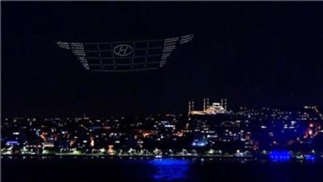 Hyundai Tucson, 580 drone ile İstanbul Boğazı'nda!