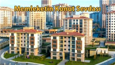 Türkiye'de ortalama her 1 dakikada 2,5 konut satıldı!